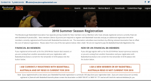 2018 Summer Season Registrations Now Open