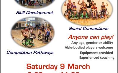 Free Come & Try Wheelchair Basketball