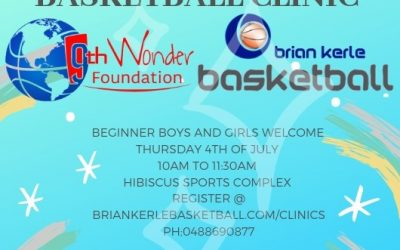 All Ability Free Basketball Clinic – Brian Kerle Brisbane