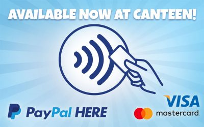 New payment options for canteen!